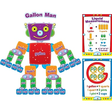 Carson-Dellosa Gallon Man Bulletin Board Set