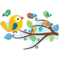 Carson-Dellosa 110202 Boho Birds Bulletin Board Set