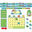 Carson-Dellosa  FUNky Frogs Calendar Bulletin Board Set