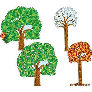 Carson-Dellosa  Big Seasonal Tree Bulletin Board Set