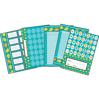 Carson-Dellosa Teal Appeal Bulletin Board Set