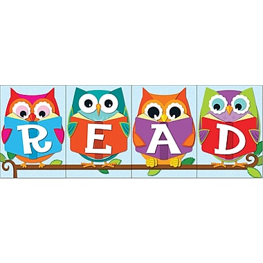 Carson-Dellosa in.Whoooin. Loves Reading? Bulletin Board Set