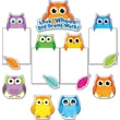 Carson-Dellosa Colorful Owls Good Work Bulletin Board Set