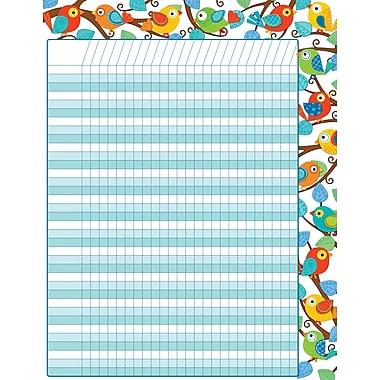 Carson-Dellosa Boho Birds Incentive Chart