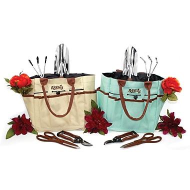 Blooms – Trousse de jardinage de 5 pièces avec sac