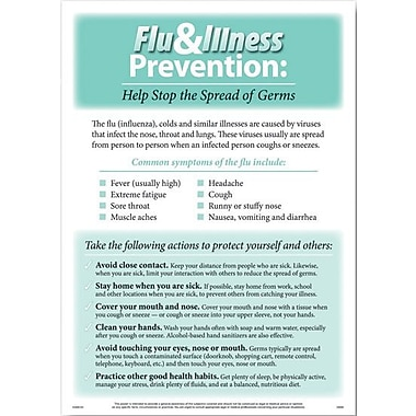 ComplyRight Flu and Illness Prevent Poster