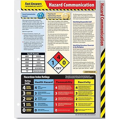 ComplyRight Hazard Communications Reference Cards