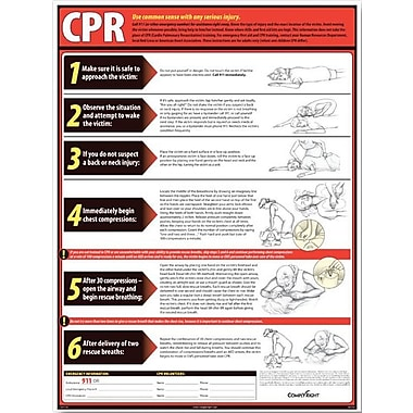 ComplyRight CPR Poster, English