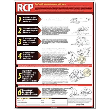 ComplyRight CPR Poster, Spanish