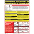 ComplyRight GHS Hazardous Materials Poster, Spanish