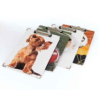 Staples® Fashion Clipboards, Letter Size, Assorted