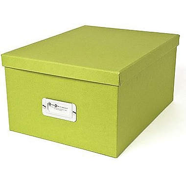 Bigso Gustav CD/DVD/Video & Photo Box, Green