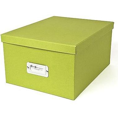 Bigso Gustav CD/DVD/Video & Photo Box, Green