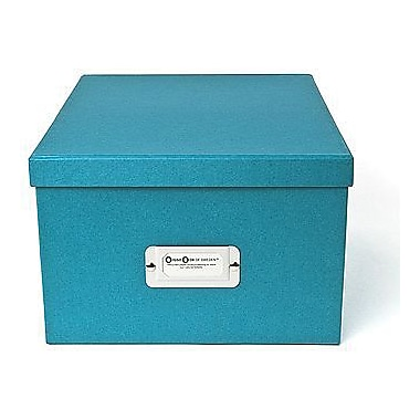 Bigso Gustav CD/DVD/Video & Photo Box, Turquoise