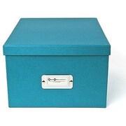 Bigso Gustav CD/DVD/Video & Photo Box, Turquoise