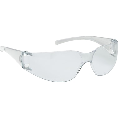 Jackson Safety V10 Element Safety Glasses, Black Frame, Smoke Lens