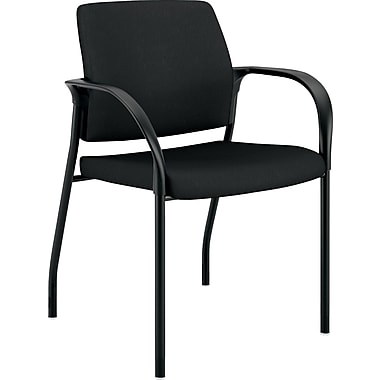 HON Ignition Multi-Purpose Stacking Chair, Black