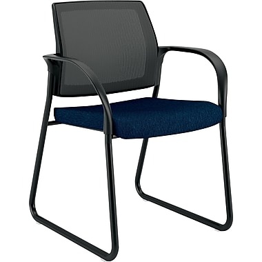 HON Sled Base Guest Chair, Mariner