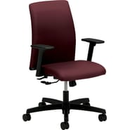 HON Ignition Series Low-Back Work Chair, Wine