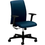 HON Ignition Low-Back Task/Computer Chair for Office and Computer Desks, Arms, Mariner