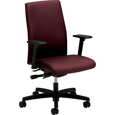HON Ignition Series Mid-Back Work Chair, Wine