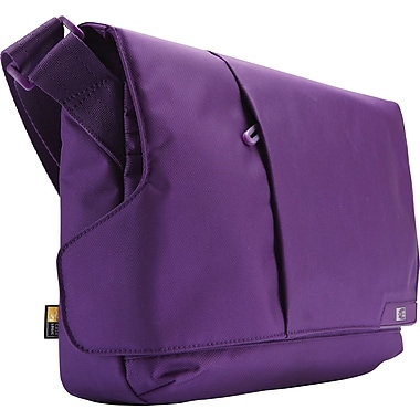 Case Logic 11in. Laptop Messenger and iPad®, Gotham Purple