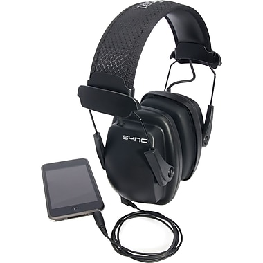 Howard Leight Leighting Sync Noise-Blocking Stereo Earmuffs, NRR 25