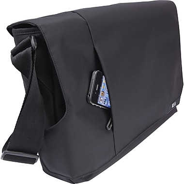 Case Logic 14in. Laptop Messenger and iPad®, Black