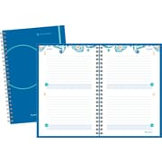 2014 AT-A-GLANCE® Paisley Exclusive Desk Two Days Per Page Planning Notebook, 6 x 9