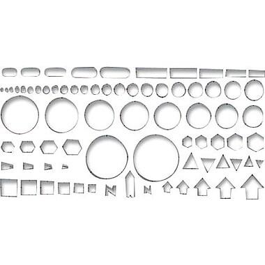 Chartpak® Circles & Identification Template, Grey