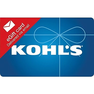 Kohl's Gift Card, $100 (Email Delivery)