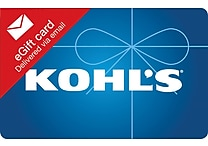 Kohl's Gift Card $25 (Email Delivery)