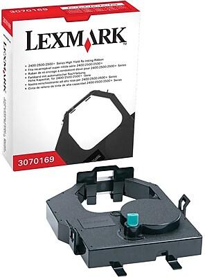 Lexmark 3070169 Black Re Ink Printer Ribbon