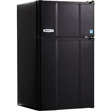 MicroFridge 2.9 cu. ft. Refrigerator/Freezer, Black