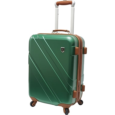 Beverly Hills Country Club BH0615 Rodeo Drive 21in. Spinner Luggage Suitcase, Green