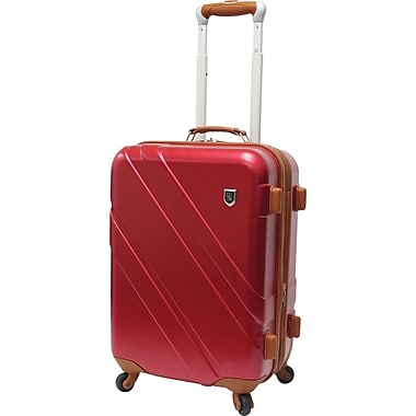 Beverly Hills Country Club BH0615 Rodeo Drive 21in. Spinner Luggage Suitcase, Red