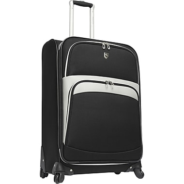 Beverly Hills Country Club BH2700 Wilshire 25in. Spinner Luggage Suitcase, Black