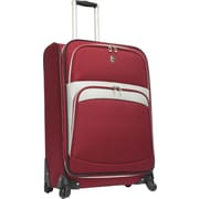 Beverly Hills Country Club BH2700 Wilshire 25 Spinner Luggage Suitcase, Red