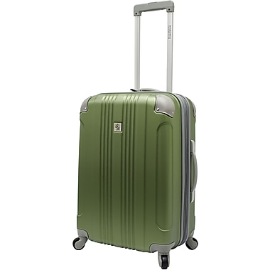 Beverly Hills Country Club BH6800 Malibu 24in. Hardside Spinner Luggage Suitcase, Green