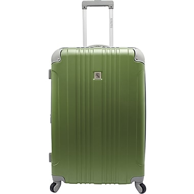 Beverly Hills Country Club BH6800 Malibu 28in. Hardside Spinner Luggage Suitcase, Green