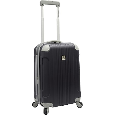 Beverly Hills Country Club BH6800 Malibu 21in. Hardside Spinner Carry-On Suitcase, Gray