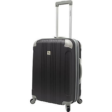 Beverly Hills Country Club BH6800 Malibu 24in. Hardside Spinner Luggage Suitcase, Gray