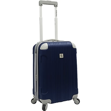 Beverly Hills Country Club BH6800 Malibu 21in. Hardside Spinner Carry-On Suitcase, Navy