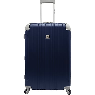 Beverly Hills Country Club BH6800 Malibu 28in. Hardside Spinner Luggage Suitcase, Navy