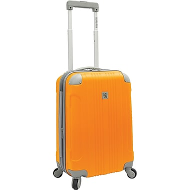 Beverly Hills Country Club BH6800 Malibu 21in. Hardside Spinner Carry-On Suitcase, Orange