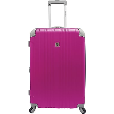 Beverly Hills Country Club BH6800 Malibu 28in. Hardside Spinner Luggage Suitcase, Magenta
