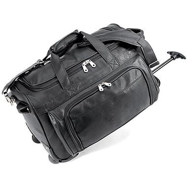 GP® 1178 Carry-On Rolling Duffel Bag, Black