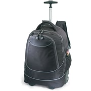 "GP® 80780 Horizon Rolling Computer Backpack For 17"" Laptops, Black"