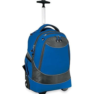 GP® 80780 Horizon Rolling Computer Backpack For 17in. Laptops, Blue