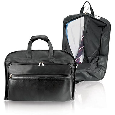 GP® 8340 Koskin Leather Carry-On Valise Garment Bag, Black